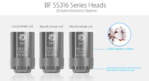 BF SS316 Head Coil