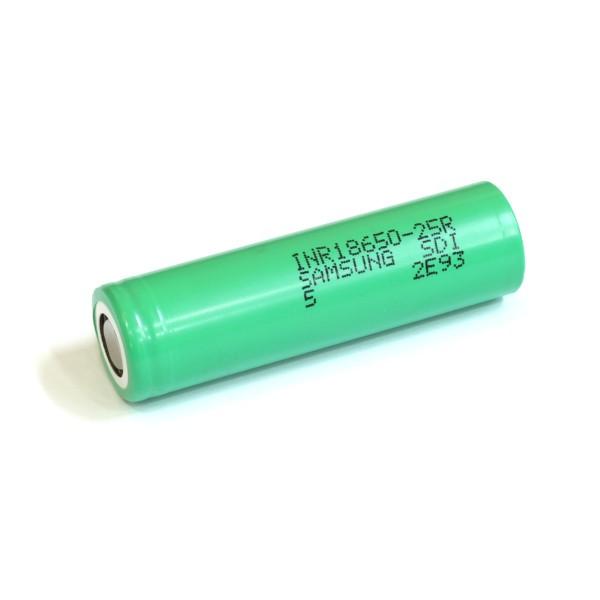 Samsung 25R 2500mAh 25A