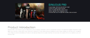 SINUOUS P80