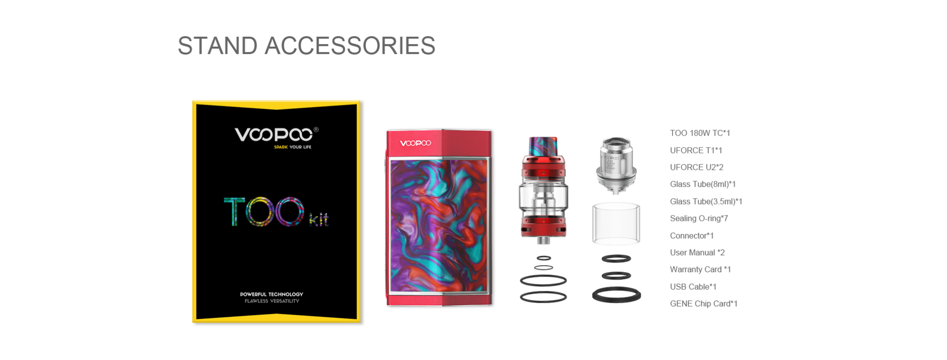 package list voopoo