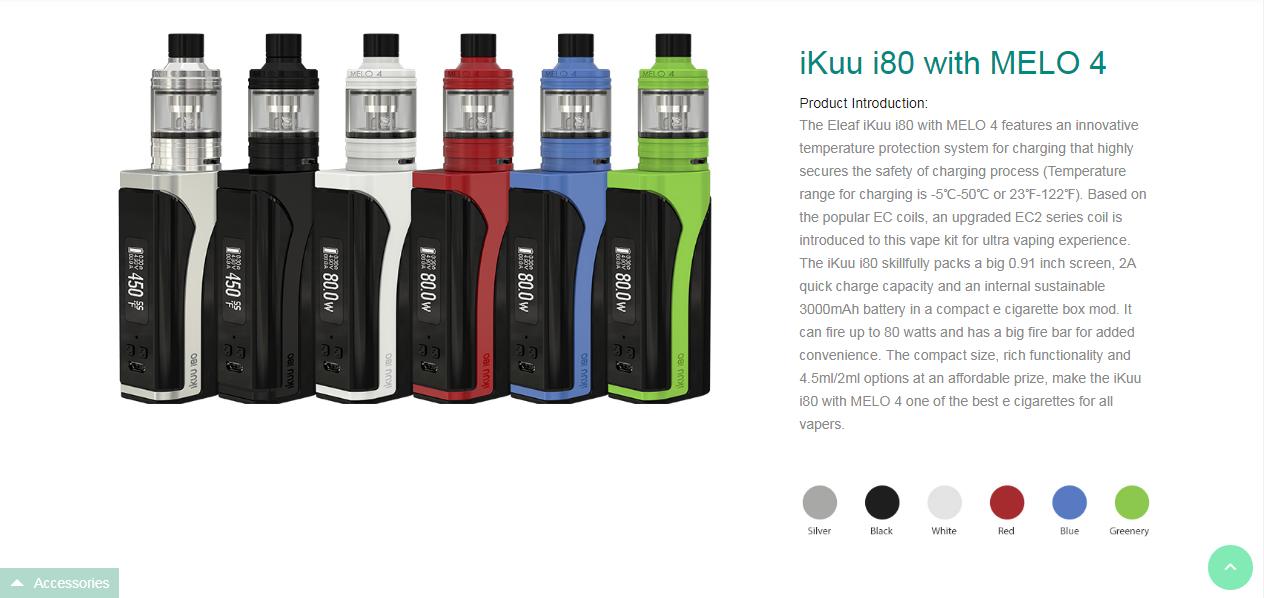 iKuu i80 with MELO 4