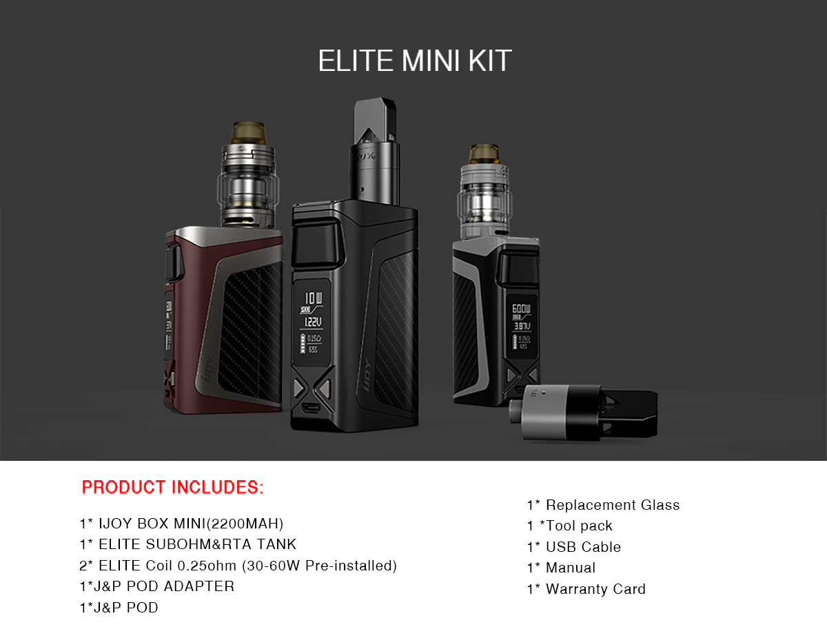 IJOY ELITE MINI KIT
