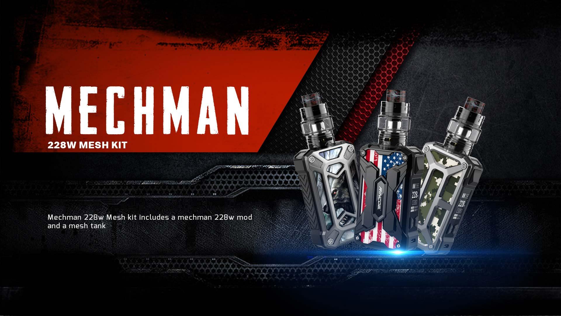 Mechman 228W Mesh kit