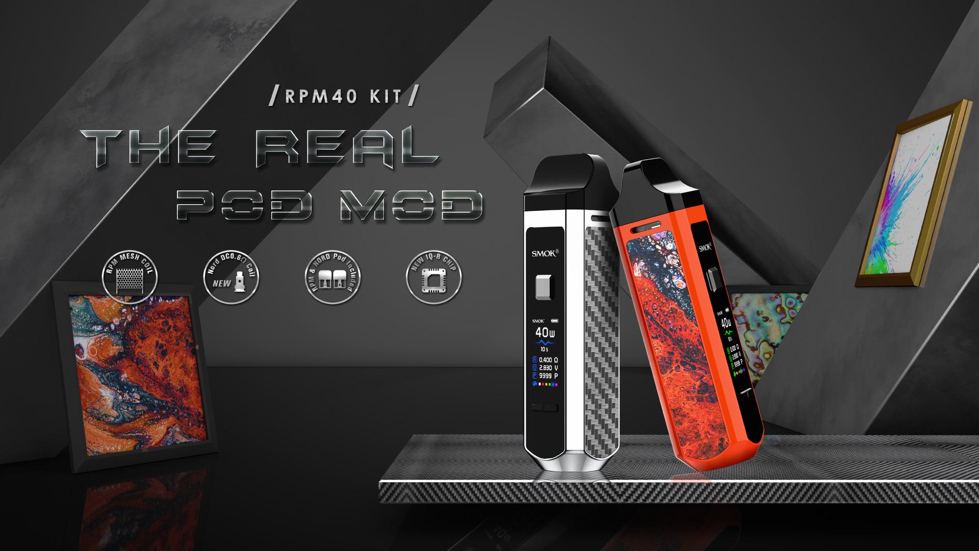 RPM40 best pod kit