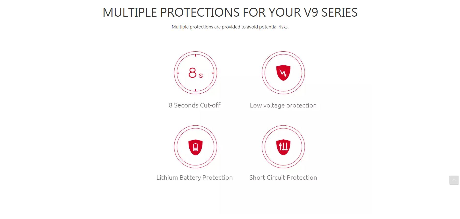 Stick V9 protection