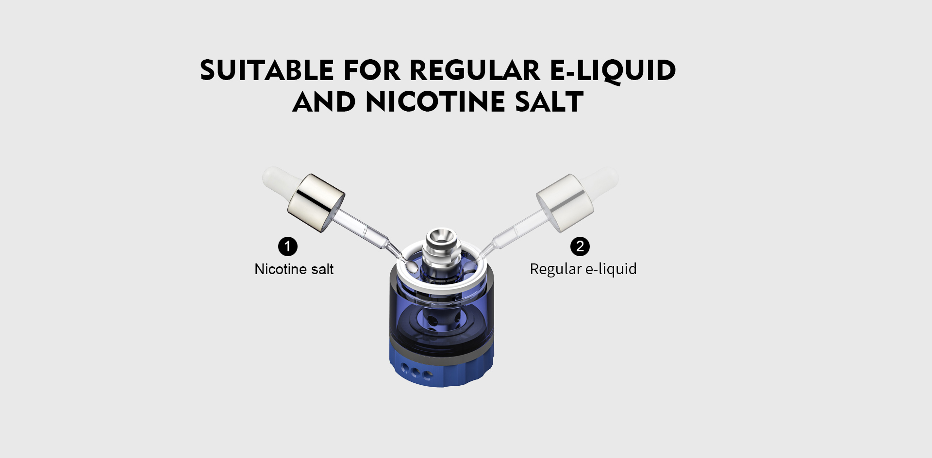 e-liquid good test and nicotine salt