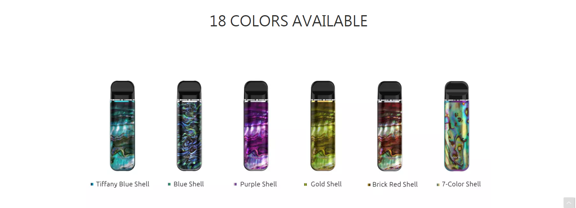 pod kit new colors