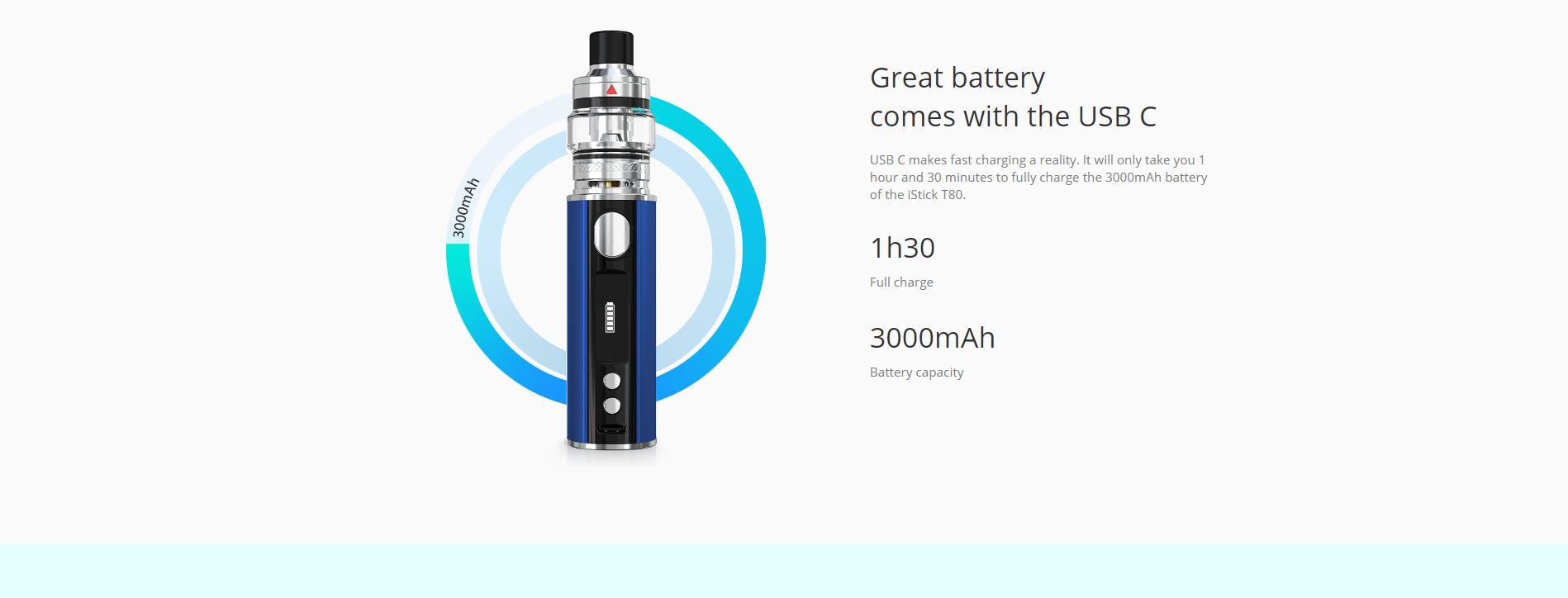 iStick T80 with Pesso
