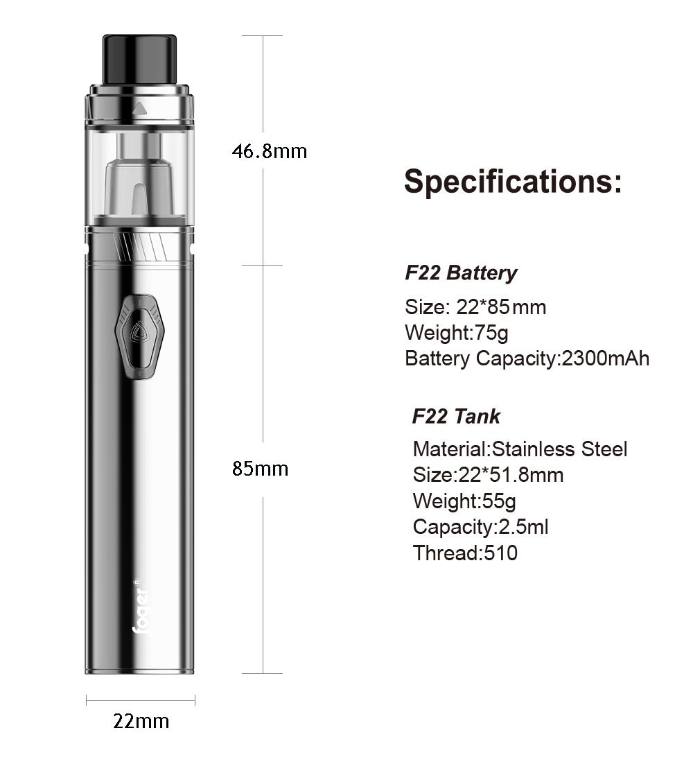 Foger F22 Kit
