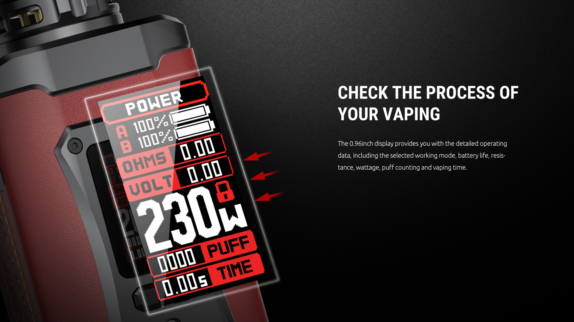 smok 230w power