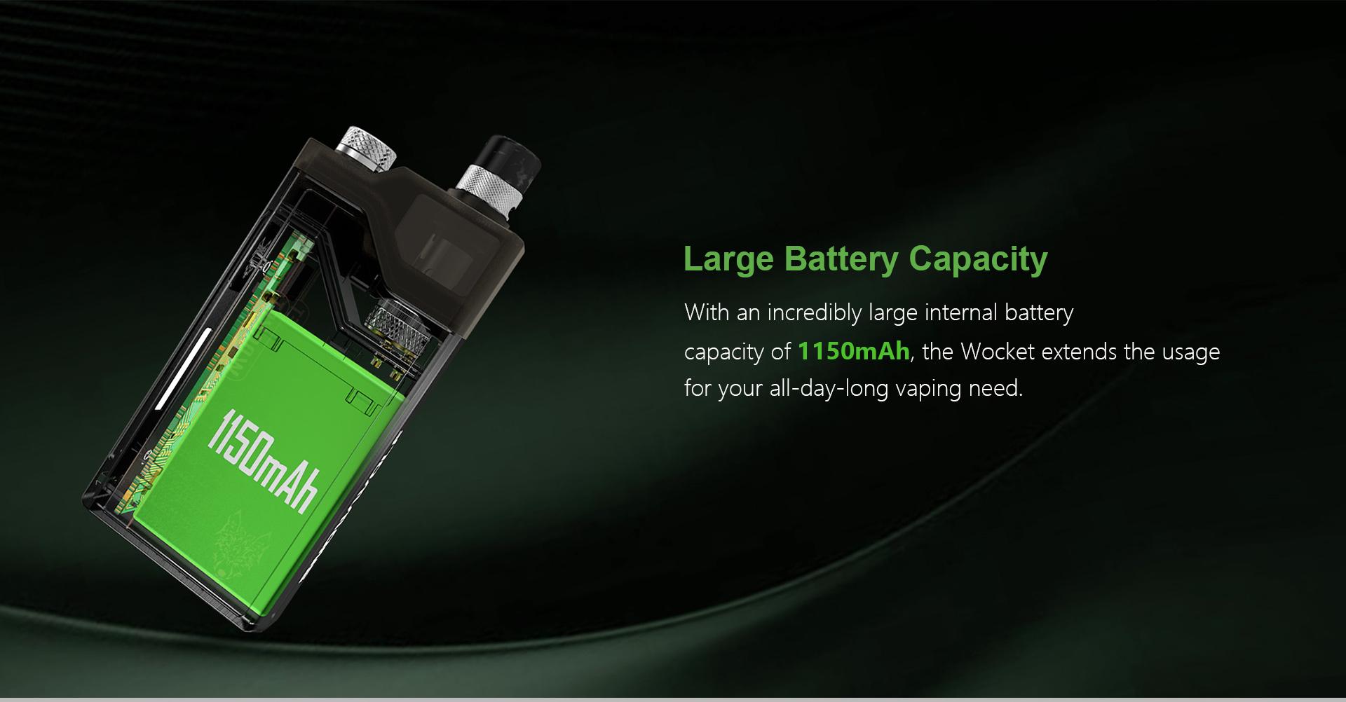 great pod battery