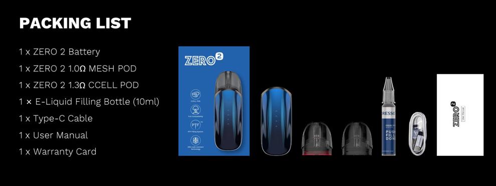 Vaporesso ZERO 2 Pod Kit